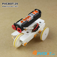 Wholesale DIY electric materials diy robot kit tricycle barrowload rc robots amp animals robot kit