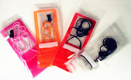 Lg sachets en plastique en Ligne-Couleurs Housse imperméable simple Protecteur de fermeture à glissière Emballage de détail Emballage Sac en plastique pour IPhone 5 5G 5S 5C 4 4S Étui pour téléphone cellulaire Livraison gratuite