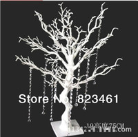 Wholesale 75cm Real Touch Emulation Trunks Twigs White Simulation Crystal Branches Artificial Trees Simulation Tree Carving