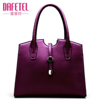 Wholesale New Fashion Elegance Blue Black Purple Tote Handbag Messenger Shoulder Bag High Quality