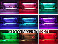 Wholesale New Ultra bright LED Light Strip Lighting RGB With Remote Colors cm For Aquarium Fish Tank Diving