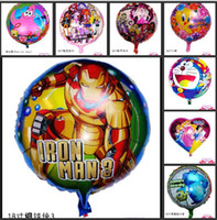 Multicolor balloons birthday - 18 Inch Kinds of Styles Cartoon Animal Helium Balloon For Kids Christmas Gifts Toys Birthday Party Decoration