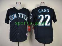 Baseball robinson - Mariners Robinson Cano Jersey Dark Blue Baseball Jerseys for Men Good Quality Base Uniforms Cheapest Sports Jerseys Athletic Shirts