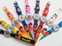 balls rubber watch - Lovely D Cartoon Dragon ball Watch Children Kids Boys Students Quartz Wristwatches Chrismas gifts birthday gift