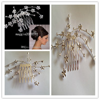 Hair Combs Rhinestone/Crystal  Real Images Highly Recommended High Quality Unique Rhinestone Crystal Wedding Bridal Comb wedding bridal hair accessory jewelry headwear