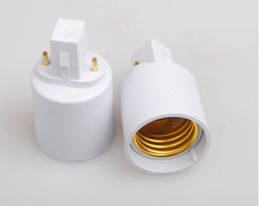 G23 to E27 socket adapter CFL g23 to e27 light bulb converter