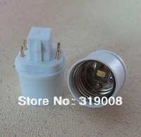 Wholesale G24q to E26 bulb adapter pin gx24q to e26 base adaptor converter