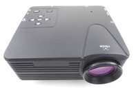 Wholesale LZ H80 Lumens LCD Portable Mini Projector x Pixels Support P with AV USB VGA HDMI SD Card Slot