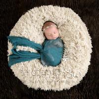 Wholesale Props blanket wool fleece for baby newborn photography photo studio prop blanket