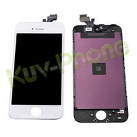 Wholesale LCD For iPhone G Free Ship with touch screen Full set Assembly White and black color
