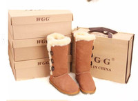 clear pvc boxes - dorp shipping new Women s Classic tall WGG style snow boots Winter boots Warm With box certificate dust bag