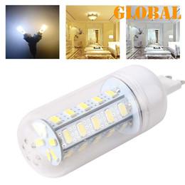 50X By DHL Ship G9 LED Bulbs 12W 1020 Lumen Cree SMD 5730 5630 Chip With Cover 36 leds GU10 E14 B22 E27 LED Bulbs Led lights Home Corn lamp