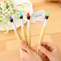 Wholesale Small fresh creative stationery series brush shape ballpoint pen gift gifts office supplies students