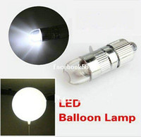 Wedding Event & Party Supplies White LED BALLOON LAMP LED BALL LIGHT for Paper Lantern Balloon Floral Decoration LED Party Light for Balloon --WHITE(STATIC,NO FLASH)