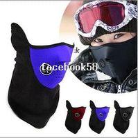 Wholesale Warm Neoprene Winter Ski Mask Snowboard Motorcycle Bike Soft Red Black Blue