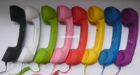Wholesale Telephone Headsets for iphone s Stylish retro mobile phone handset for iphone