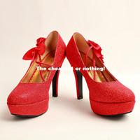Half Boots PU Wedge Cheap Wholesale 2014 new bride wedding flowers round waterproof shoes high heels stilettos shoes