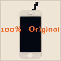 Wholesale 100 Original Good Quality LCD Display With Touch Screen Digitizer Full Assembly For iPhone S Lcd Assembly Replacement Black White