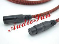 audiophile xlr cables - Van Den Hul M C D102 MK III Hybrid Halogen XLR Audio Cable M Diy audiophile XLR cable