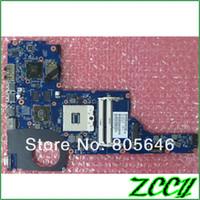 SATA pc motherboard - Original PAVILION G6 G7 G6 INTEL HM65 laptop Notebook PC motherboard system board for HP compaq tested