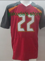 Top Quality Wholesale 2014 #22 Martin Red Rugby Stitched Aut...