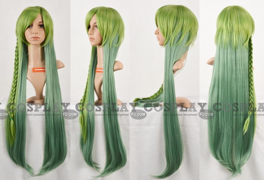 Excellent Ukyo Anime Cosplay Wig From Amnesia 100Cm Long Straight Multi Hairstyles For Women Draintrainus