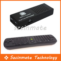 Wholesale Latest MK808B Bluetooth Android Mini PC Android Dual Core G G HDMI TV Box RC11 Air Mouse