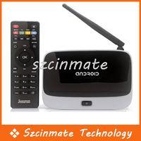 Cheap XBMC CS918 Smart TV BOX Quad Core RK3188 Android 4.2.2 Google Internet TV WiFi Bluetooth Wholesale