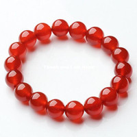 Wholesale Natural crystal red agate national beauty trend Women Lady bracelet gift