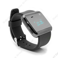 Unisex Wristwatches Fashion & Casual Free Shipping!!2nd U Smart Bluetooth Watch Mic Music Number Sync For Smartphone