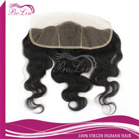Cheap Mongolian Hair lace frontal hair Best Natural Color Body Wave lace frontal