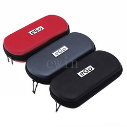 Wholesale eGo Zipper Case Leather Bag For Electronic Cigarette Starter Kit Multi Color Small Medium Large Size