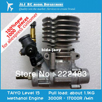 Wholesale TAIYO Methanol Engine for Model Aircraft Car Boat New Japanese Original Model Engine Gift for DIY