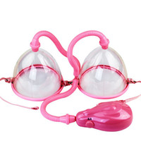 breast care equipment - Electric Breast Enlarger Breast Enhancer Suction Pump Dual Cup Machine Enlargement Bust Massager Breast Care Equipment
