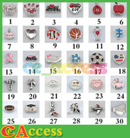 Charms   Free DHL Mixed Floating Charms For Glass Memory Living Floating Locket Pendant Xmas Gift No Locket