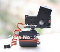 Antennas servos - 1set DOF Short Pan And Tilt Servos Bracket Sensor Mount Kit For Robot Arduino Compatible MG995 Retail