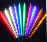Wholesale 80cm LED christmas meteor rain tube light led running light tube tube set