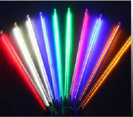 80cm 78 led christmas meteor rain tube lightled running light tube 10tube set - Tube Christmas Lights