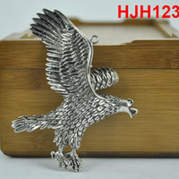 Wholesale eagle Pendant Charms Fashion diy jewelry Scarf Findings Alloy diy necklace accessories HJH123