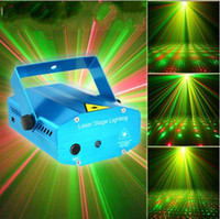 Wholesale MW Mini Red Green Moving Party Laser Stage Light laser DJ party light Twinkle V Hz With Tripod lights LJP