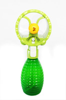 Wholesale Cooling portable summer mini fan with water bottle