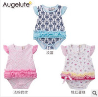 Wholesale Hot Sale Kids Rompers Spring And Summer Fashion Children Rompers Various Flower Color Girl Pure Cotton Jumpsuits