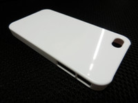 Wholesale sublimation blanks diy blank iphone case white plain plastic hard back case for iPhone s