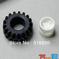 Plastics Blocks Unisex Rim Tire 16set lot Bulk Building Blocks Sets S057 Legoland Educational DIY Construction Bricks Toys For Children