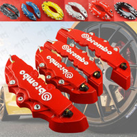 Wholesale D Red Auto Car Styling Brembo Style Universial Brake Caliper Covers Accessories S M Front Rear