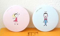 Wholesale Fashion Lovely small cosmetic mirror Carry on beauty mirror