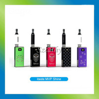 Cheap Hot Original innokin iTaste MVP 2.0 Shine wholesale Edition with with Swarovski diamond iclear 16B atomizer and 2600mAh battery good quality