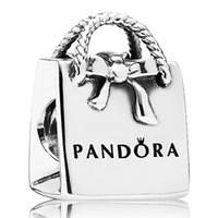 Wholesale Pandora Sterling Silver Bag Beads Charm DIY Jewelry