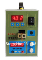 Wholesale Micro computer Pulse Spot Welder Battery Charger A mm V