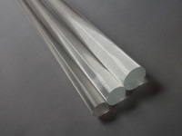 Acrylic / Plexiglass / PMMA bar furniture supply - Acrylic Plexiglass rods clear OD8x1000mm Building supplies Perspex furniture Plastic transparent bar pmma rods Can cut any size